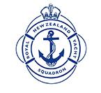 royal new zealand yacht squadron logo